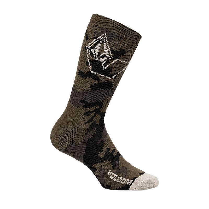 VOLCOM ボルコム メンズ ソックス 靴下 D6302003 Vibes Socks [MIL]