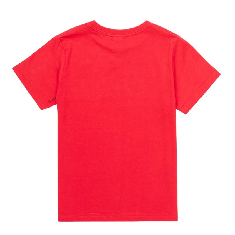 【WINTER SALE 20%OFF】 VOLCOM ボルコム キッズ(3-7才) Tシャツ 半袖 Y3521835 Glitchy S/S Tee Little Youth