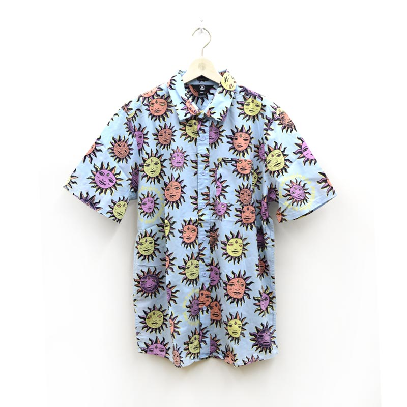 VOLCOM ボルコム メンズ 半袖シャツ ショートスリーブシャツ A0412111 Ozzy Sun S/S [AEB]