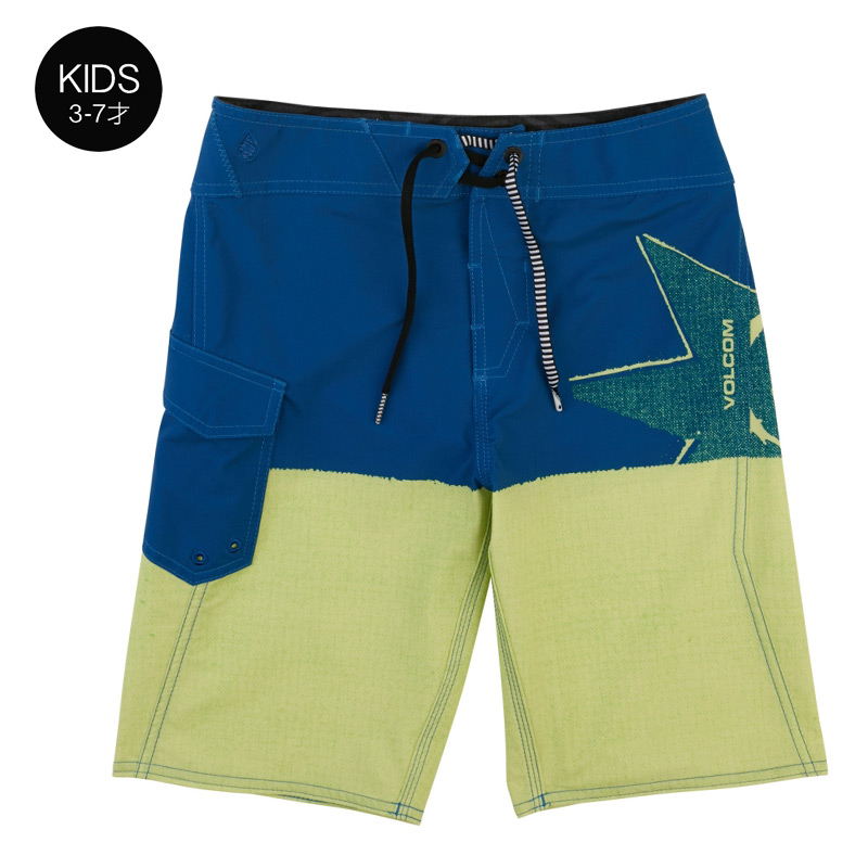 【WINTER SALE 30%OFF】 VOLCOM ボルコム キッズ(3-7才) ボードショーツ 水着 Y0811835 Lido Block Mod Little Youth