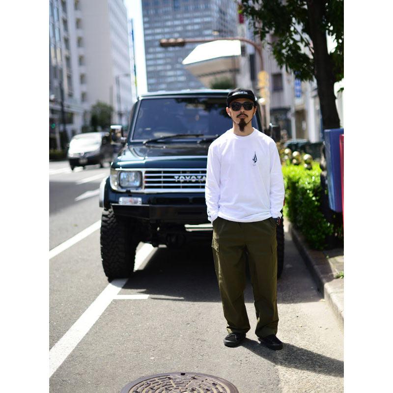 【20%OFF】 VOLCOM ボルコム メンズ ルーズフィットカーゴパンツ A1212104 Loose Trucks Ew Pant [MIL]
