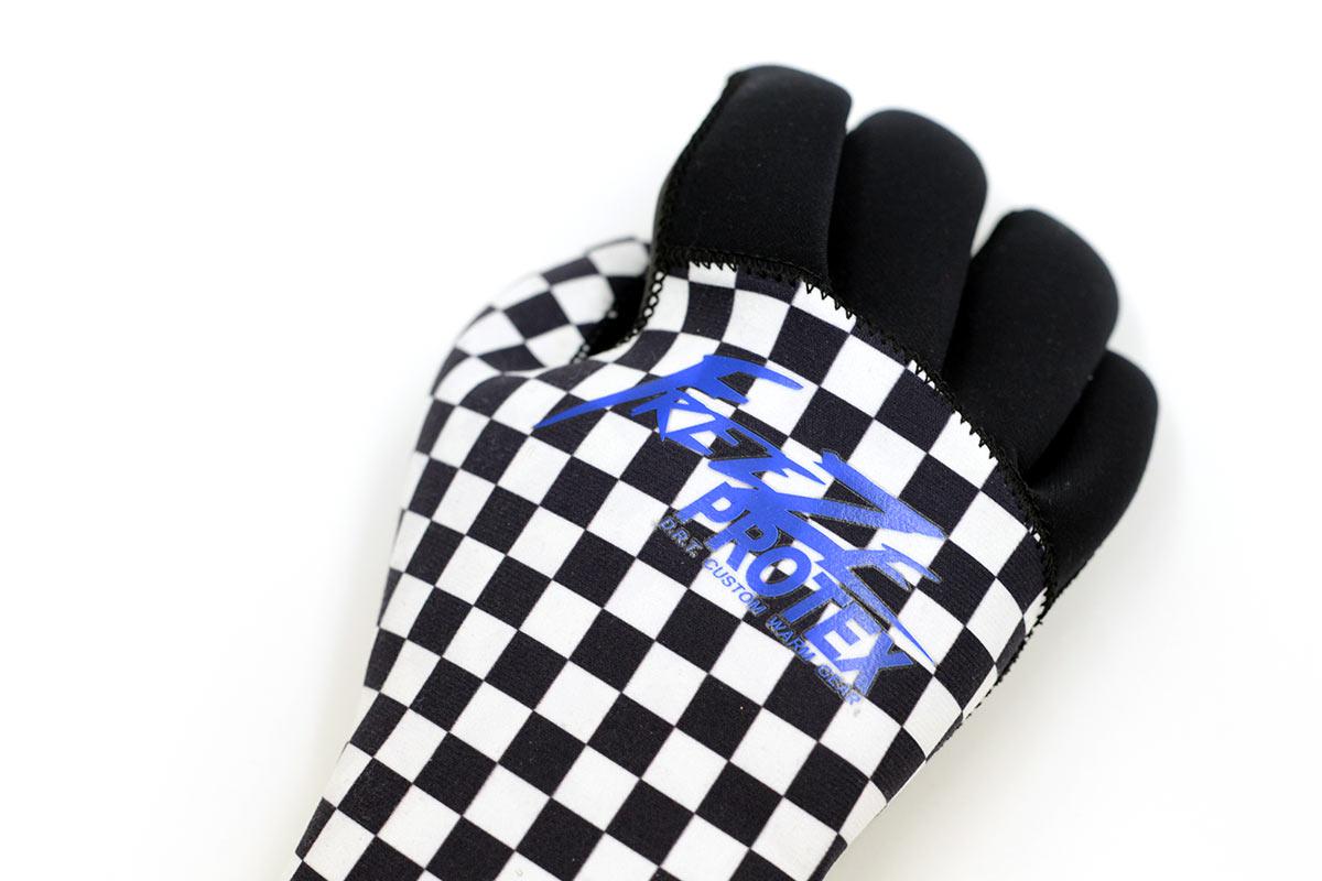 DRT ディーアールティー バスフィッシング ネオプレーングローブ Freeze Protex Neoplane Glove [CHECKER]