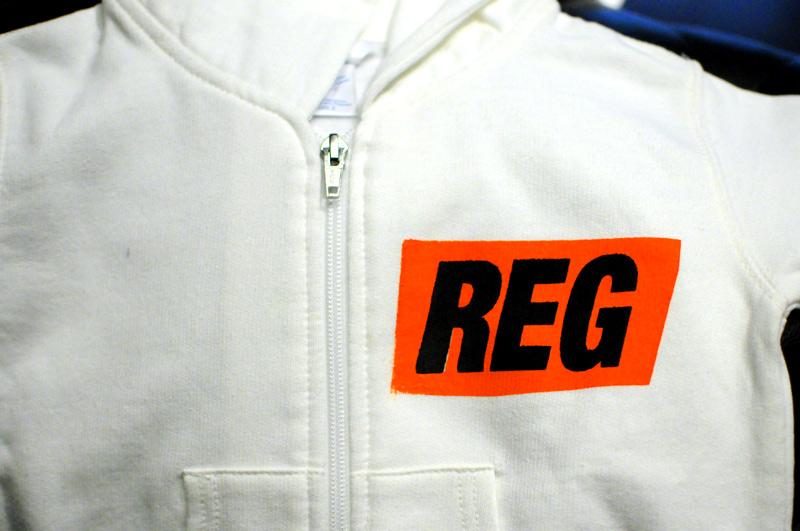 #REGTAG KIDS ZIP PARKA [WHT] REGULATOR/レギュレイト キッズ・ジップパーカー/ジップススウェット