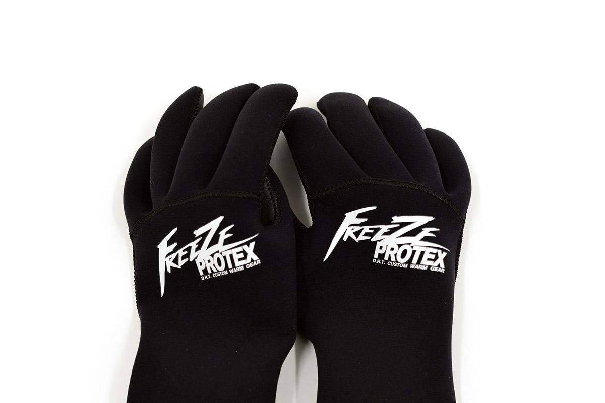 DRT ディーアールティー バスフィッシング ネオプレーングローブ Freeze Protex Neoplane Glove [BLACK]
