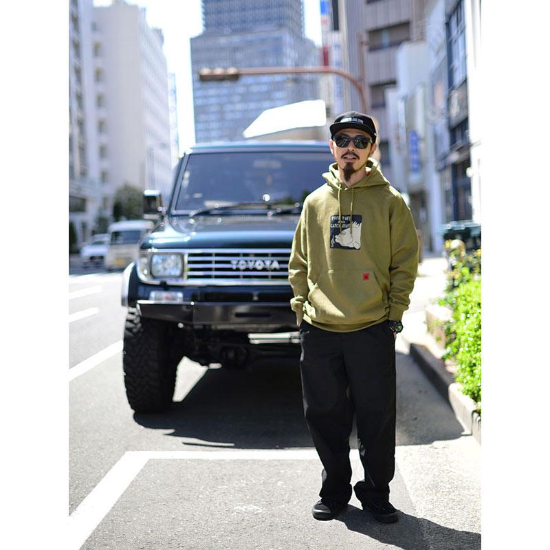 VOLCOM ボルコム メンズ プルオーバーパーカー A4112108 Loose Trucks P/O [OLM]