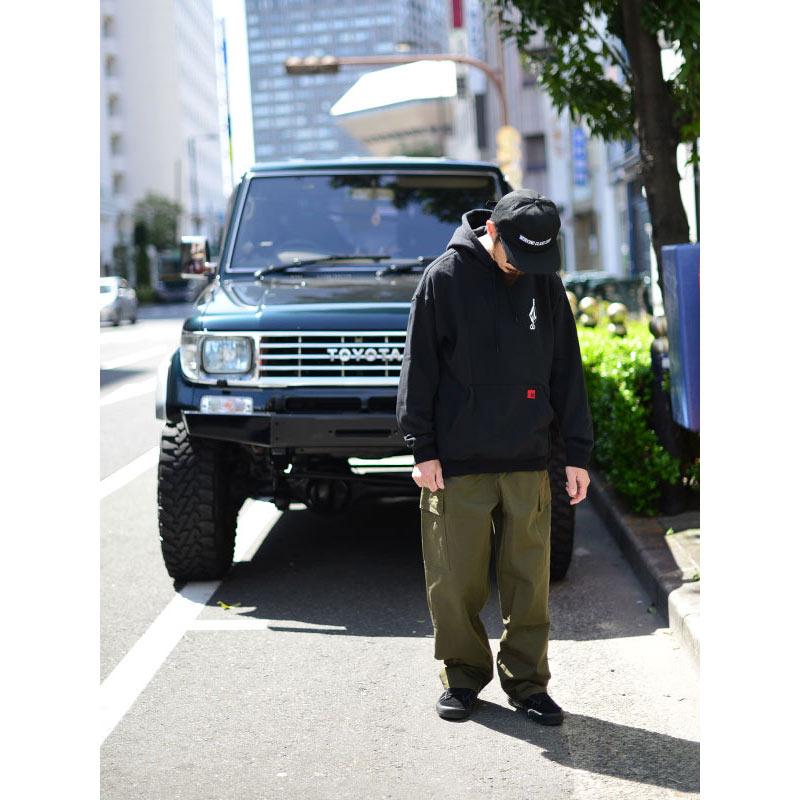 VOLCOM ボルコム メンズ プルオーバーパーカー A4112108 Loose Trucks P/O [BLK]