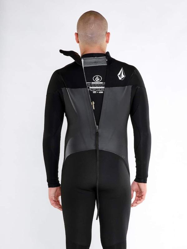 VOLCOM ボルコム メンズ ウェットスーツ フルスーツ バックジップ A9532101 4/3MM Full Back Zip Fullsuit [BLK]