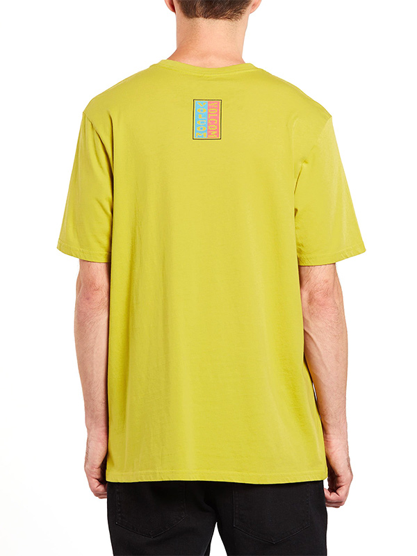 VOLCOM ボルコム メンズ モダンフィットボーダーTシャツ 半袖 A5032003 Embedded Face S/S Tee