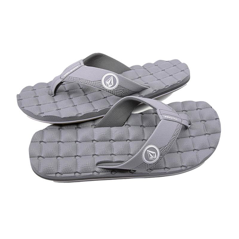 VOLCOM ボルコム メンズ サンダル ビーチサンダル V0811520 Recliner Sandal [LGR]