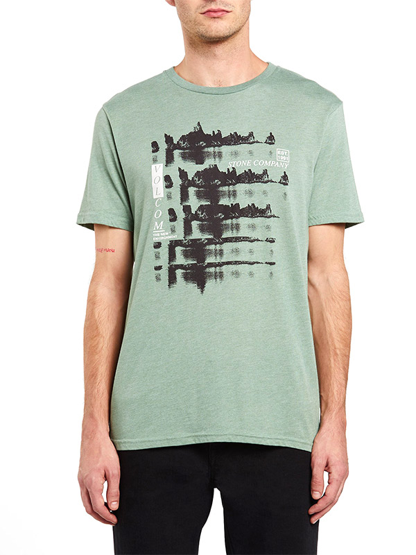 VOLCOM ボルコム メンズ モダンフィットボーダーTシャツ 半袖 A5732005 Horizon S/S Tee