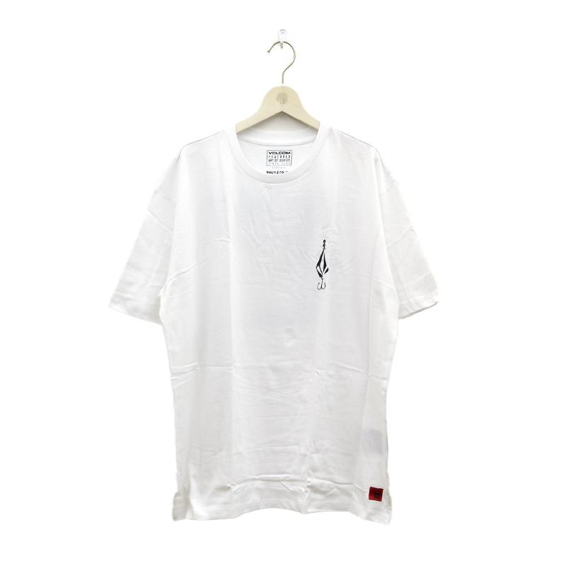 VOLCOM ボルコム メンズ Tシャツ 半袖 A4312121 Loose Trucks LSE SS [WHT]