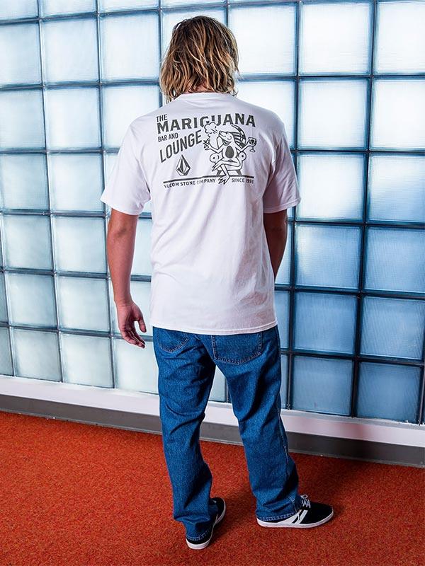 VOLCOM ボルコム メンズ ベーシックフィットTシャツ 半袖 A3532005 Mariguana S/S Tee