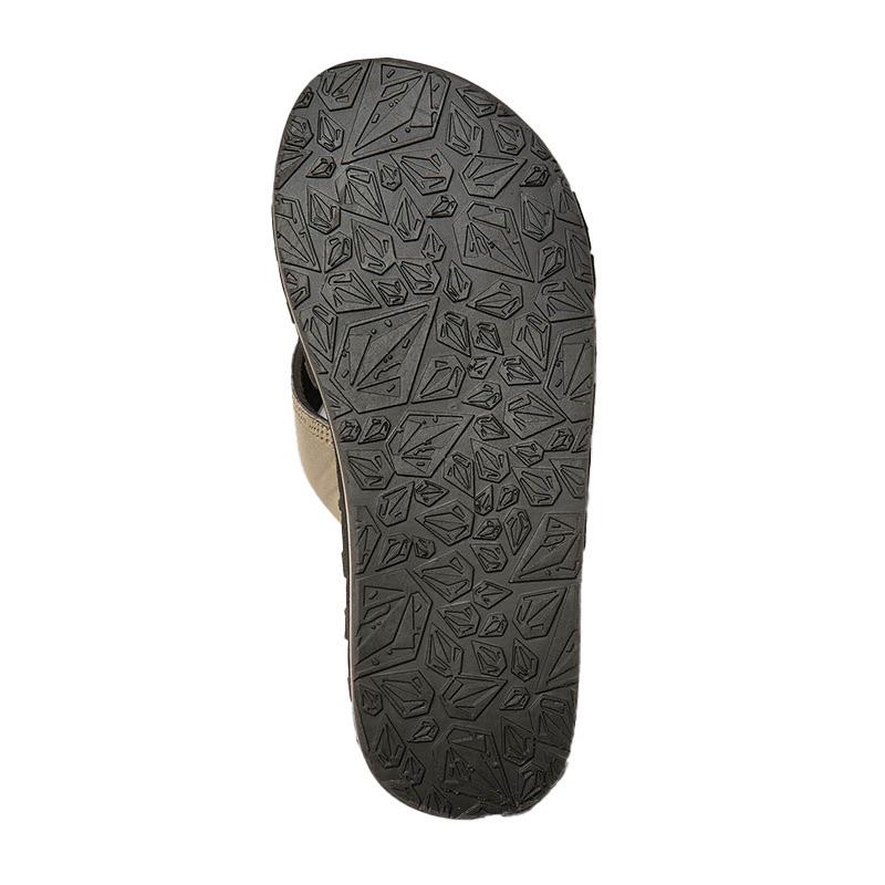 VOLCOM ボルコム メンズ サンダル ビーチサンダル V0811520 Recliner Sandal [KHA]