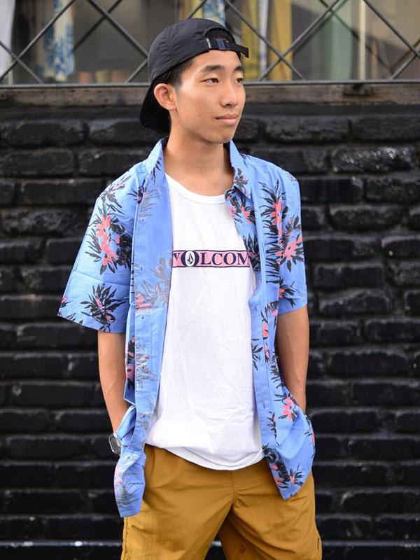 【30%OFF】 VOLCOM ボルコム メンズ 半袖シャツ ショートスリーブシャツ A0412112 Floral With Cheese [BPB]