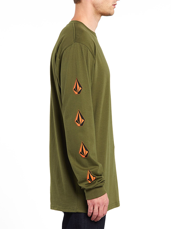 VOLCOM ボルコム メンズ ロングスリーブTシャツ ロンT 長袖 A3612004 Deadly Stones L/S Tee