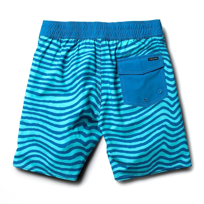 【WINTER SALE 30%OFF】 VOLCOM ボルコム キッズ(3-7才) ボードショーツ 水着 Y0811836 Mag Vibes Elastic Little Youth