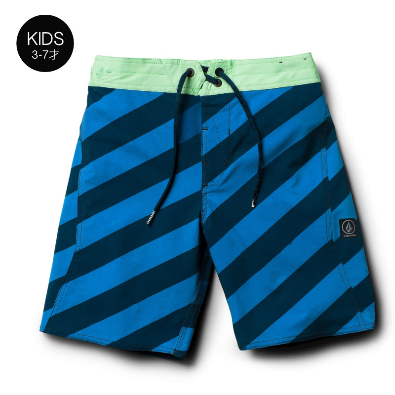 【30%OFF】 VOLCOM ボルコム キッズ(3-7才) ボードショーツ 水着 Y0811832 Stripey Elastic Little Youth [IND]