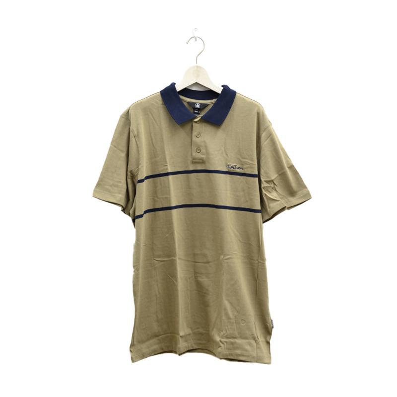 VOLCOM ボルコム メンズ ポロシャツ A0112105 Atwall Polo S/S [KHA]