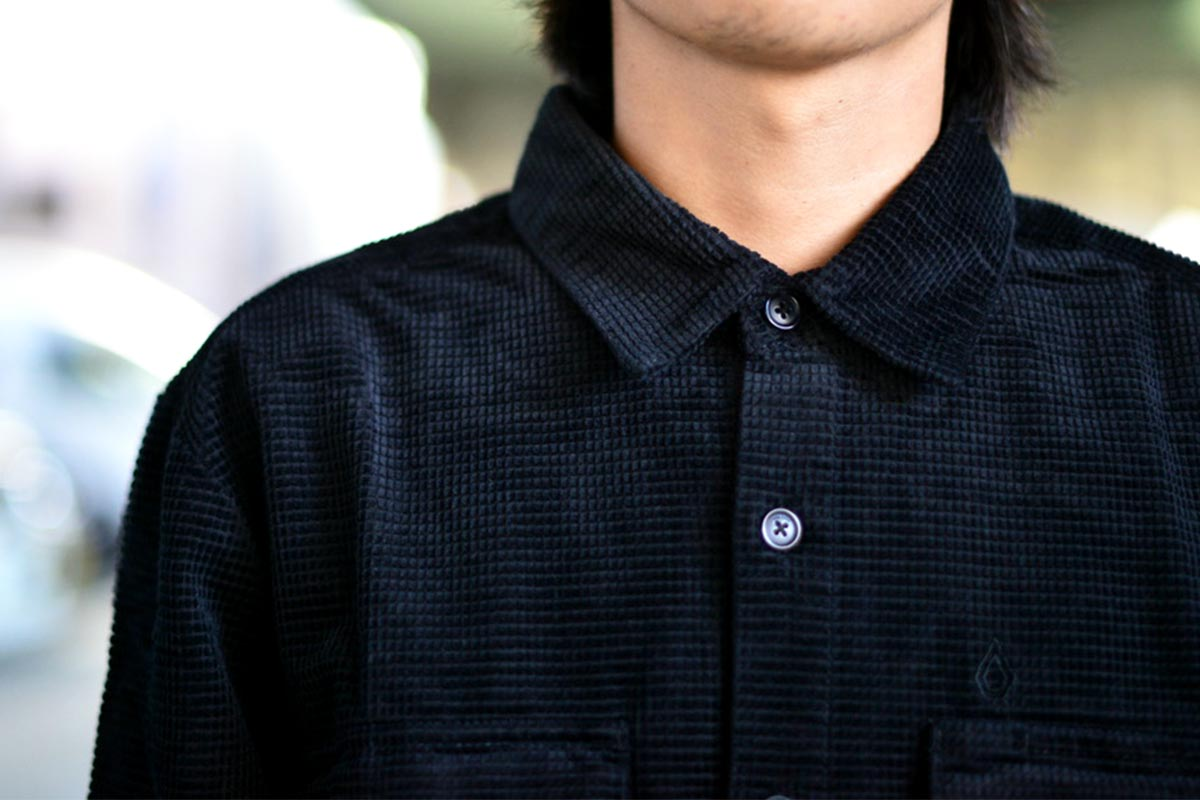 VOLCOM ボルコム メンズ 長袖シャツ ワークシャツ A0532100 Louie Lopez Workshirt LS [BLK]