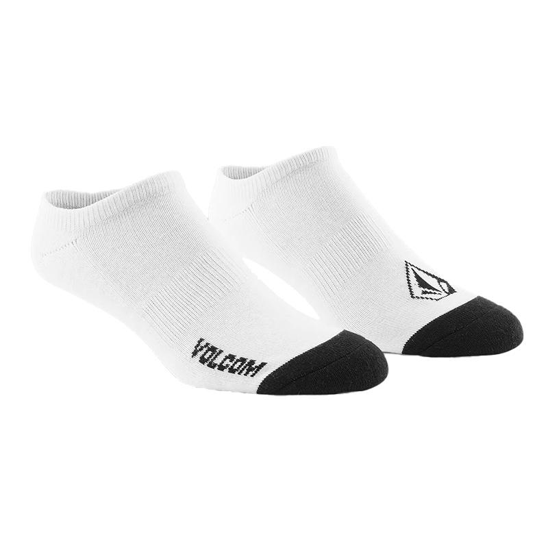 VOLCOM ボルコム ソックス3足セット アンクルソックス D6321802 Stone Ankle Sock 3PK [WHT]