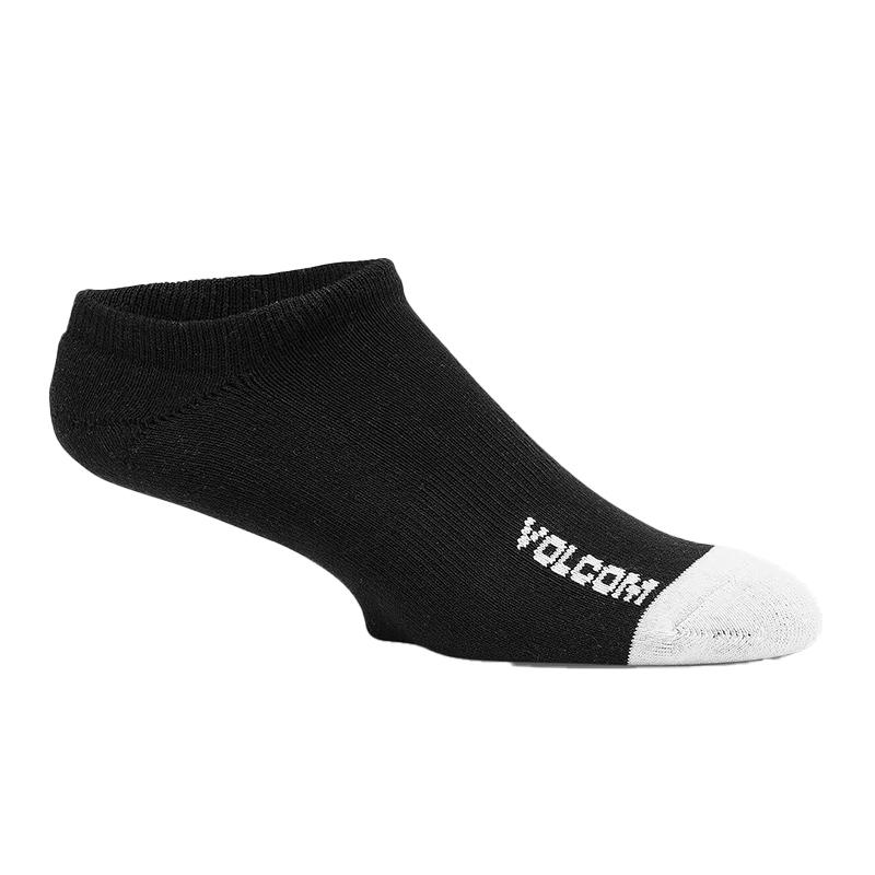VOLCOM ボルコム ソックス3足セット アンクルソックス D6321802 Stone Ankle Sock 3PK [BLK]