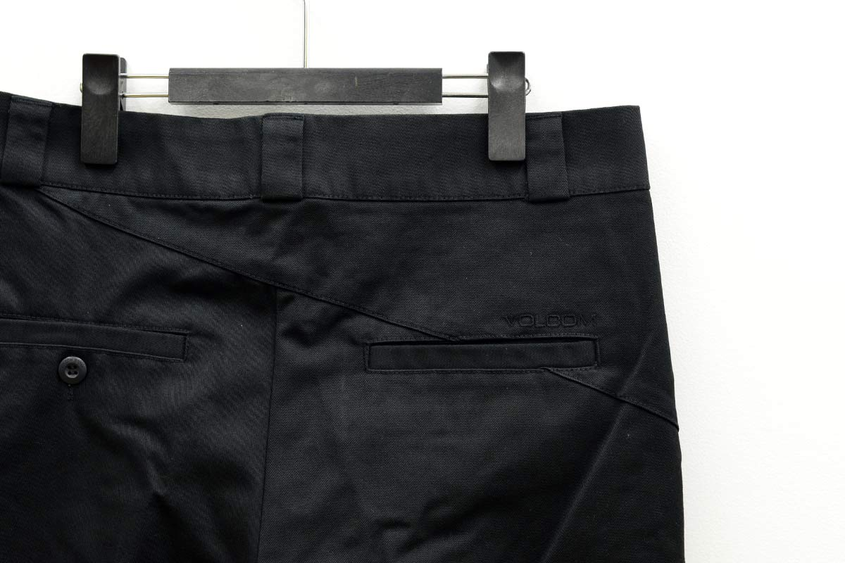 VOLCOM ボルコム レディース ウェア チノパン B1112100 Whawhat Chino Pant [BLK]