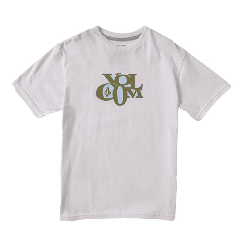 【30%OFF】 VOLCOM ボルコム キッズ(3-7才) Tシャツ 半袖 Y3512107 Docket S/S Tee Little Youth [WHT]