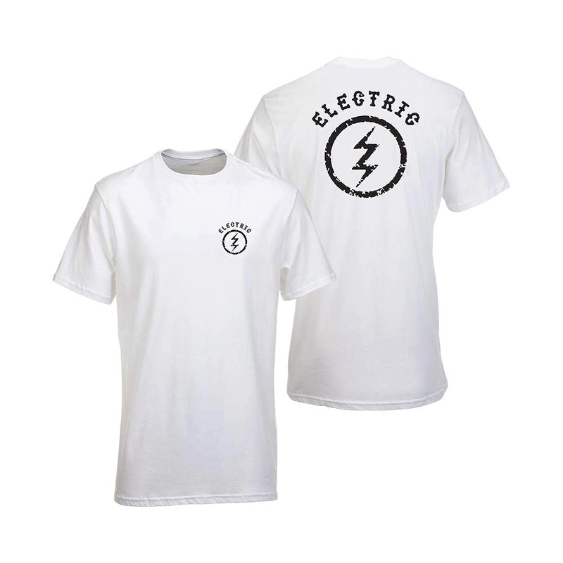 ELECTRIC エレクトリック メンズ Tシャツ EA4318001 Circle Bolt S/S Tee [WHT]