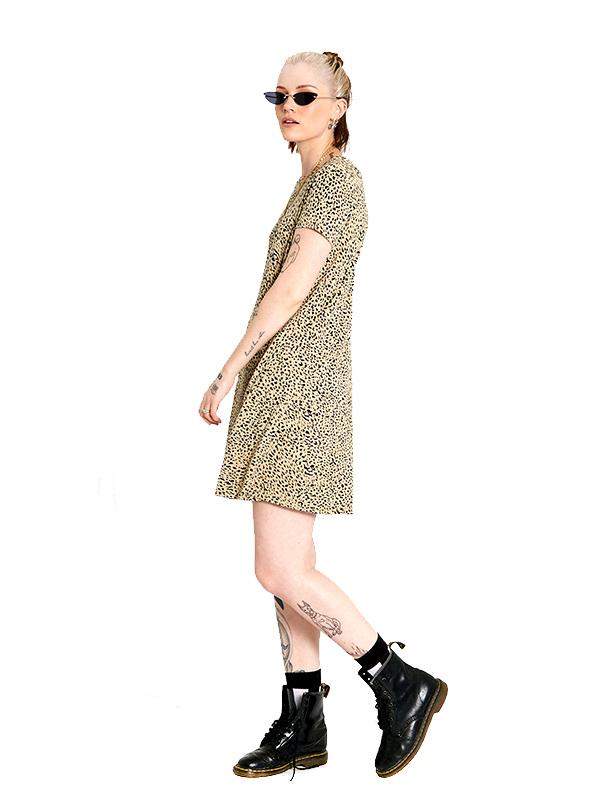 Volcom ボルコム レディース トラペーズワンピース ドレス B1312104 High Wired Dress [ANM]