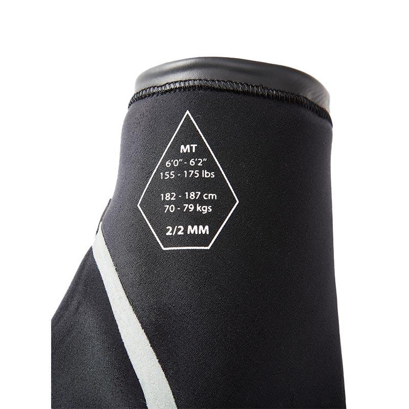 VOLCOM ボルコム メンズ ウェットスーツ シーガル A9512101 2/2MM S/S FULLSUIT [BLK]