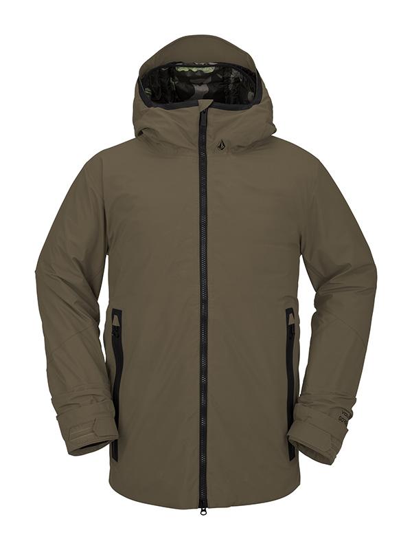 【WINTER SALE 20%OFF】 VOLCOM ボルコム メンズ スノーボードウェア ジャケット G0452101 Owl 3-In-1 Gore Jacket