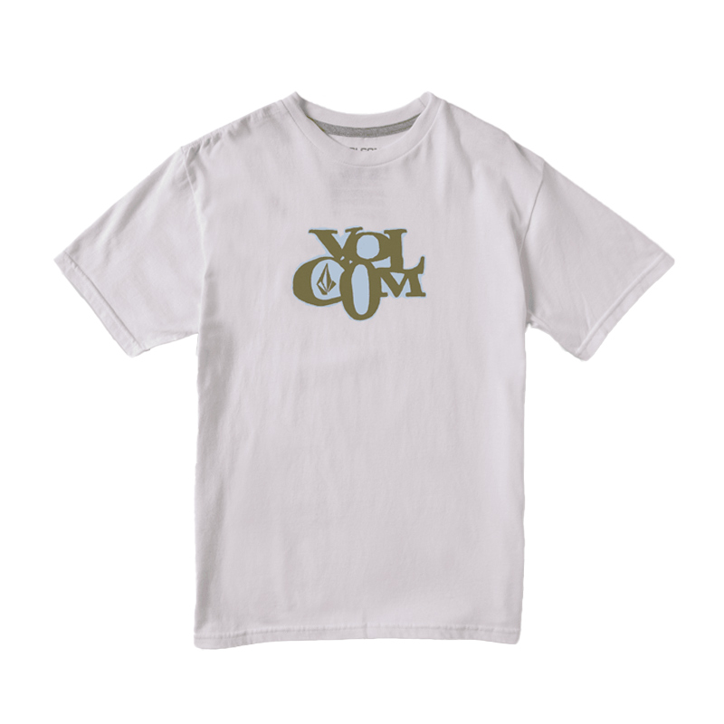 【30%OFF】 VOLCOM ボルコム ボーイズ(8-14才) Tシャツ C3512107 Doclet S/S Tee Youth [WHT]