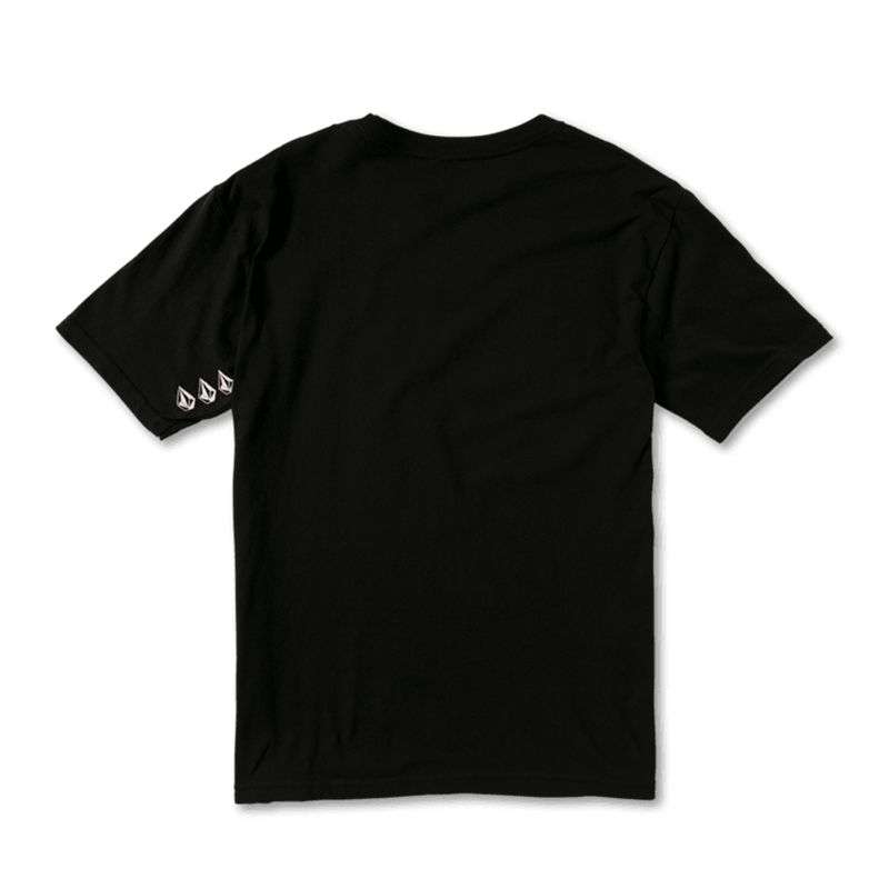 【30%OFF】 VOLCOM ボルコム ボーイズ(8-14才) Tシャツ C3512107 Doclet S/S Tee Youth [BLK]