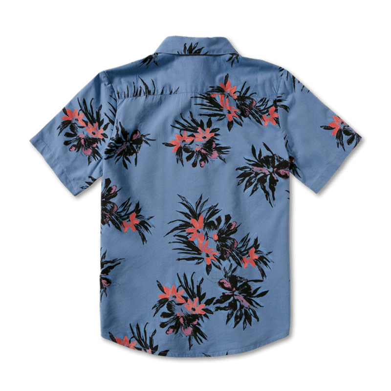 【30%OFF】 VOLCOM ボルコム ボーイズ(8-14才) 半袖シャツ C0412112 Floral With Cheese S/S Youth [BPB]