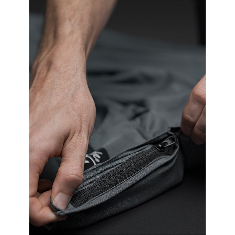 VOLCOM ボルコム × MATADOR マタドール タオルポンチョ お着替えポンチョ パッカブル D6712102 Packable Towel Poncho [GRY]