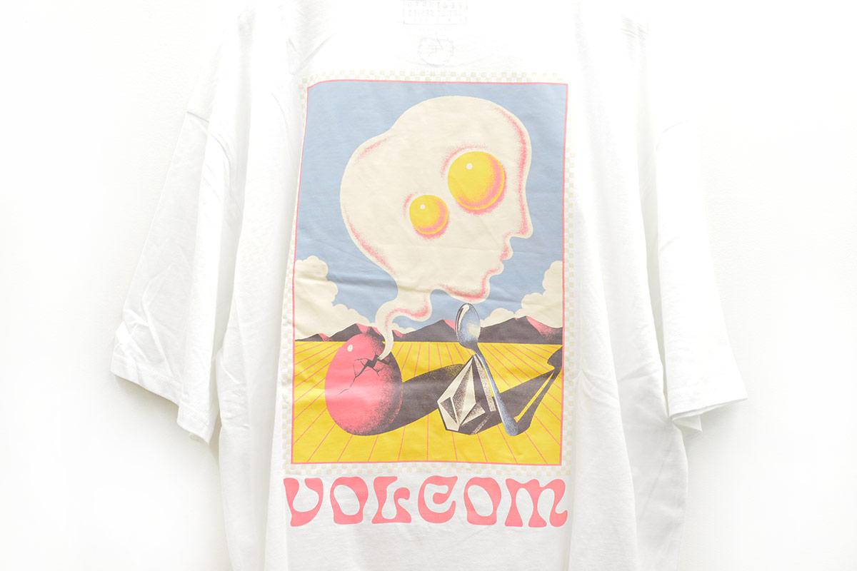 VOLCOM ボルコム メンズ アジアンフィットTシャツ 半袖 AF212107 Apac M. Loeffler Fa SS [WHT]
