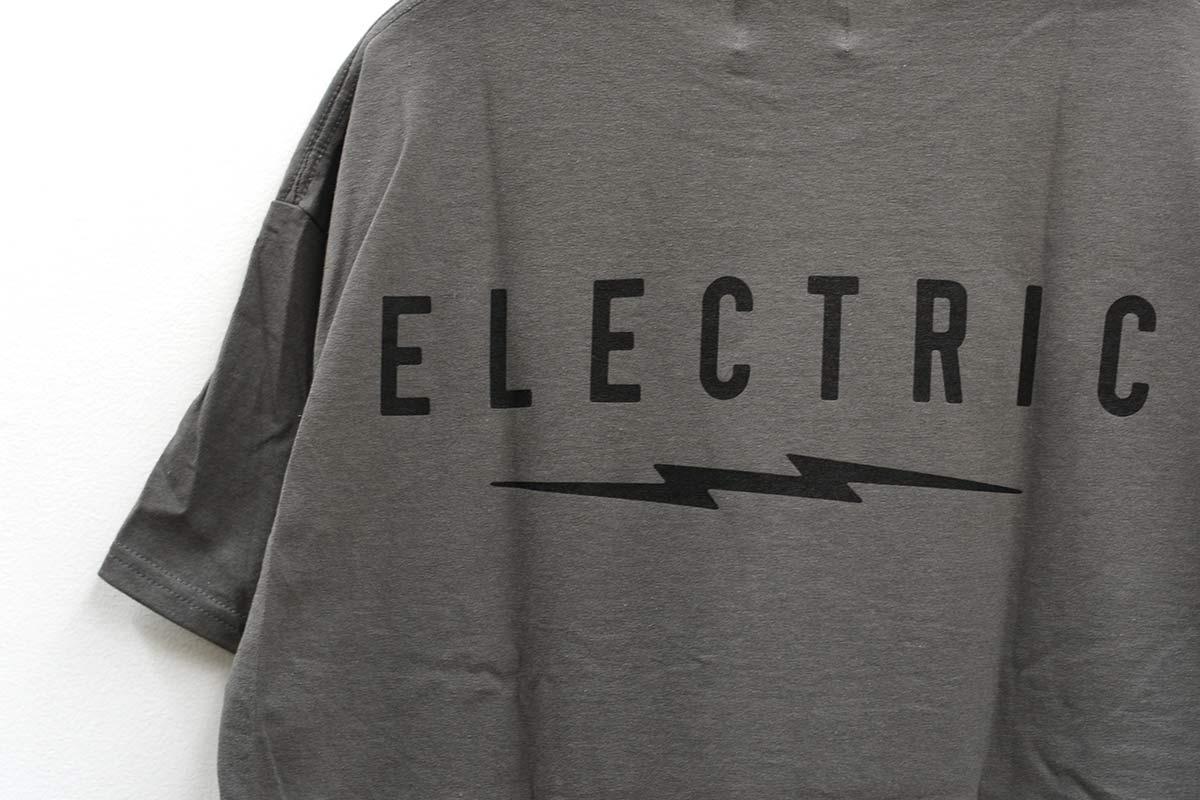 ELECTRIC エレクトリック メンズ Tシャツ E21SS04 UNDER VOLT LOGO TEE [CHR]