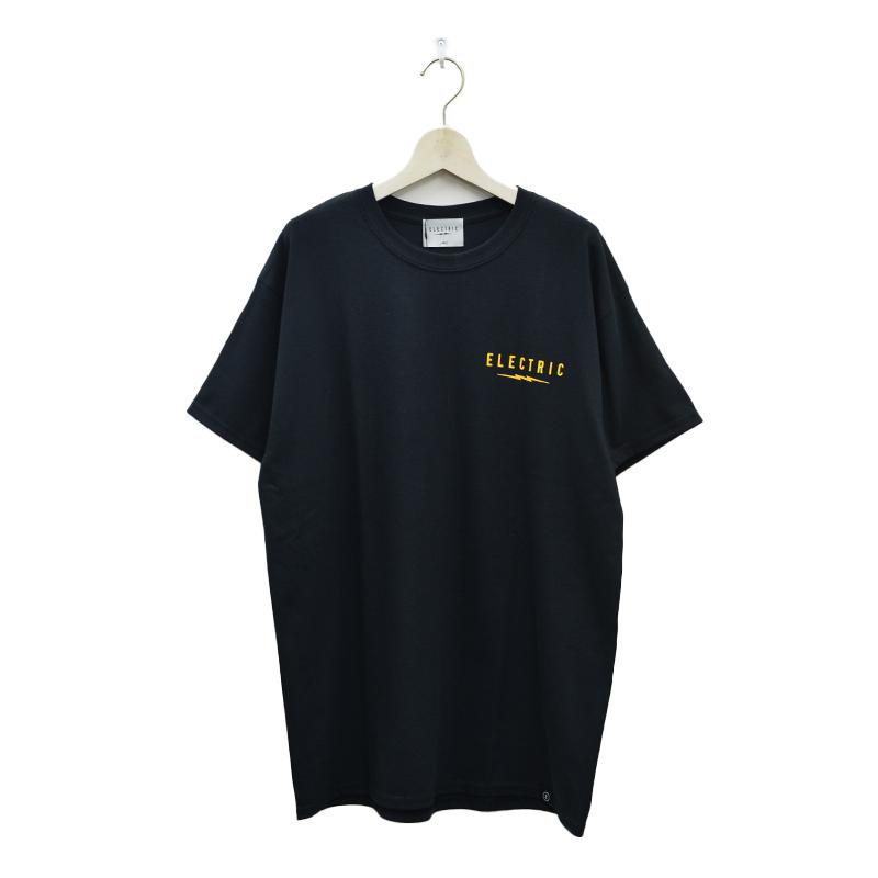 ELECTRIC エレクトリック メンズ Tシャツ E21SS04 UNDER VOLT LOGO TEE [BLK]