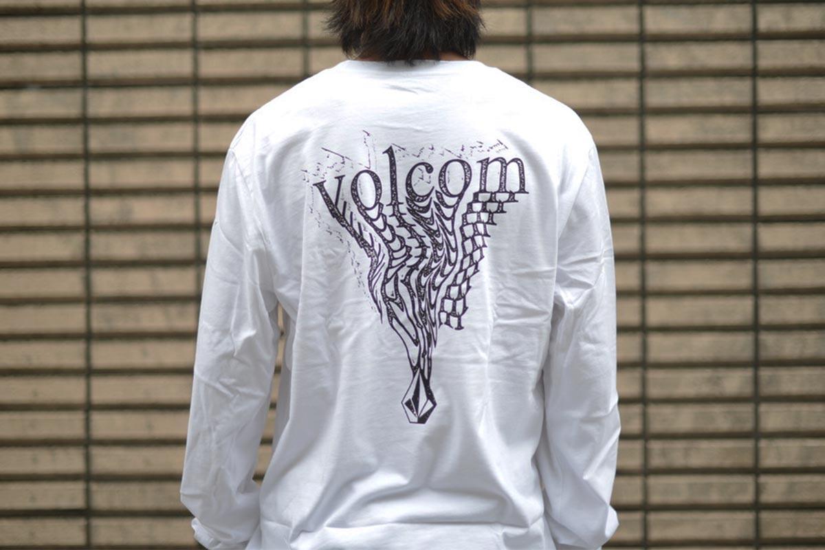 VOLCOM ボルコム メンズ ロングスリーブTシャツ ロンT A3632102 Burgoo L/S Tee [WHT]