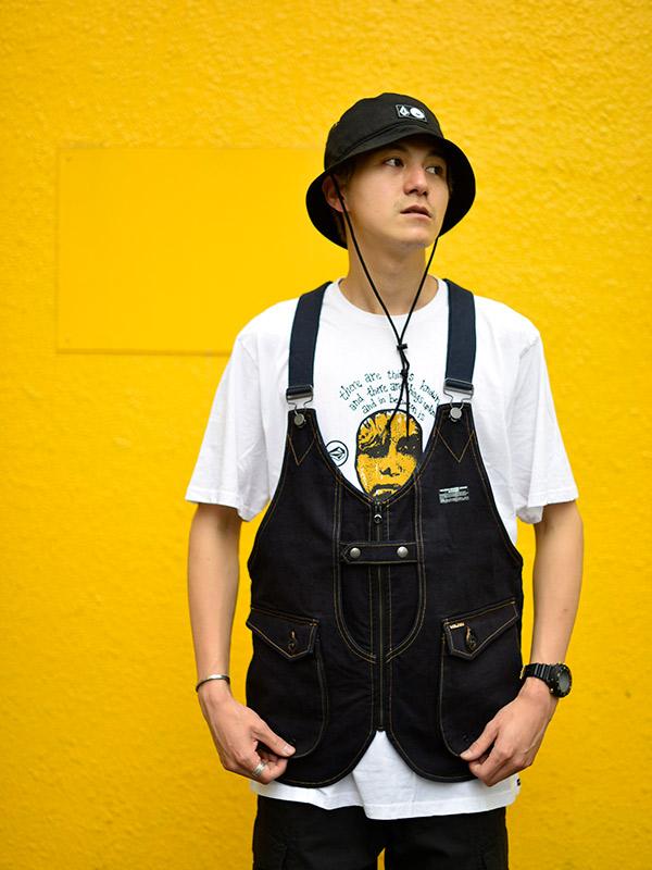 【Halloween Trick Price 15%OFF】 VOLCOM ボルコム  ベスト 多目的ベスト A18220JA JP Denim Tool Vest