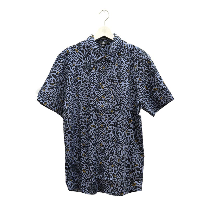 VOLCOM ボルコム メンズ 半袖シャツ ショートスリーブシャツ A0412105 Striver S/S [CHB]