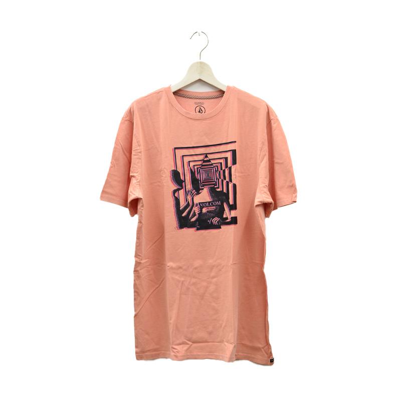 VOLCOM ボルコム メンズ モダンフィットTシャツ 半袖 A5212102 Stone Reveal S/S Tee [BLK]