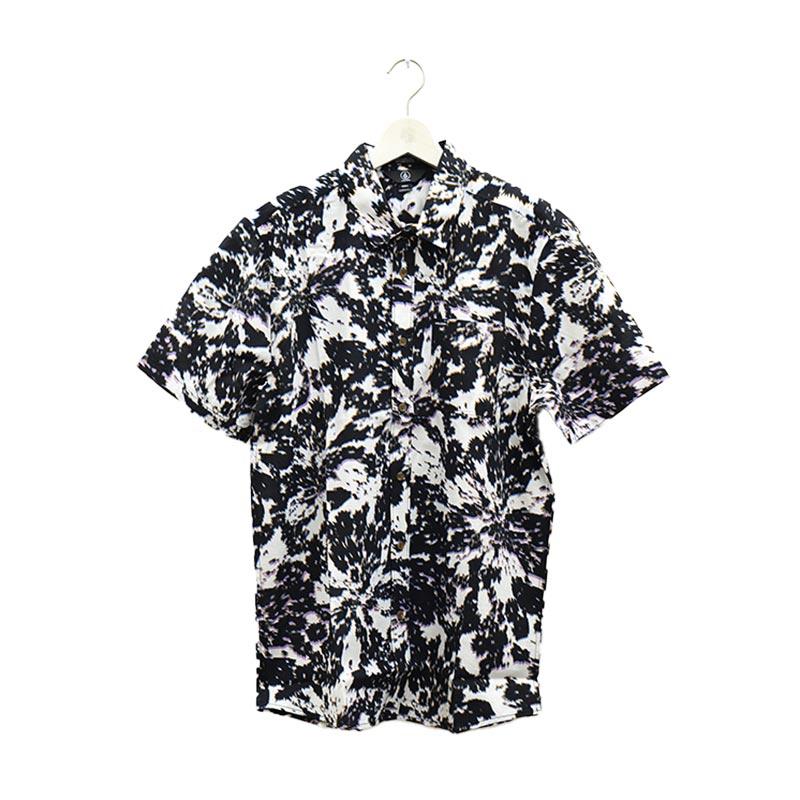 VOLCOM ボルコム メンズ 半袖シャツ ショートスリーブシャツ A0412105 Striver S/S [WHT]