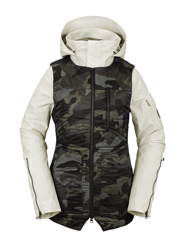 【WINTER SALE 20%OFF】 VOLCOM ボルコム レディース スノーボードウェア スノージャケット H0452106 Vault 4-In-1 Jacket