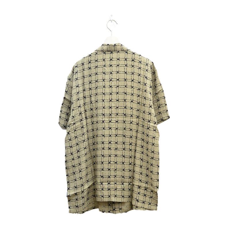 VOLCOM ボルコム メンズ 半袖シャツ アロハシャツ A0412109 Tab Up S/S [KHA]