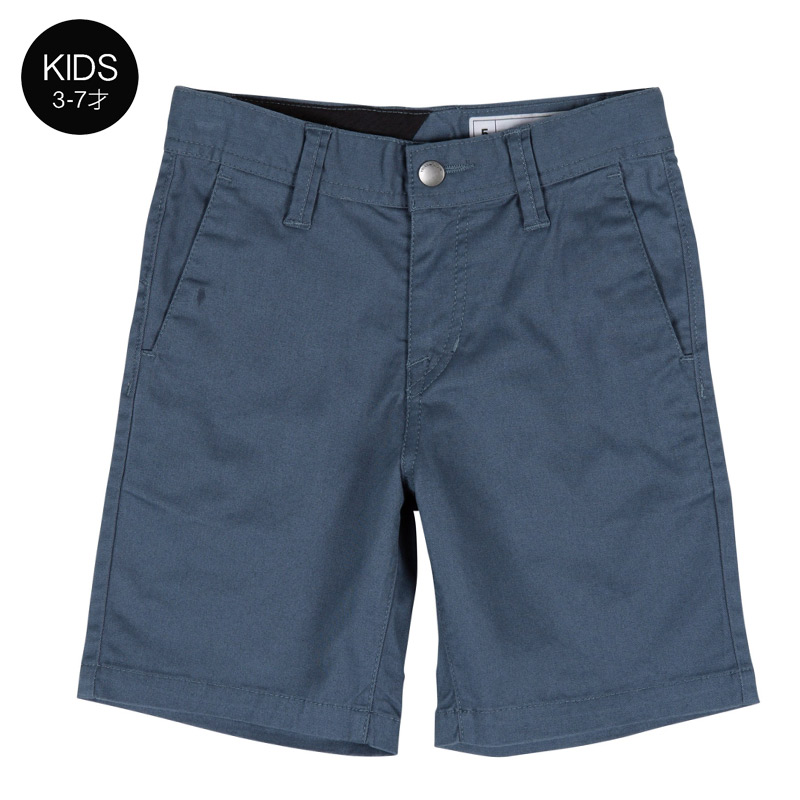 【WINTER SALE 30%OFF】 VOLCOM ボルコム キッズ(3-7才) ショートパンツ Y0911603 Frickin Lighweight Short Little Youth