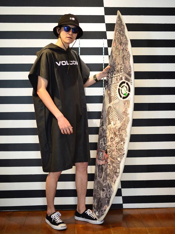 【WINTER SALE 20%OFF】 VOLCOM ボルコム メンズ ポンチョ D6712056 Stone Poncho