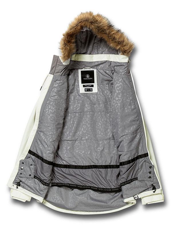【WINTER SALE 20%OFF】 VOLCOM ボルコム レディース スノーボードウェア スノージャケット H0452011 Fawn Ins Jacket
