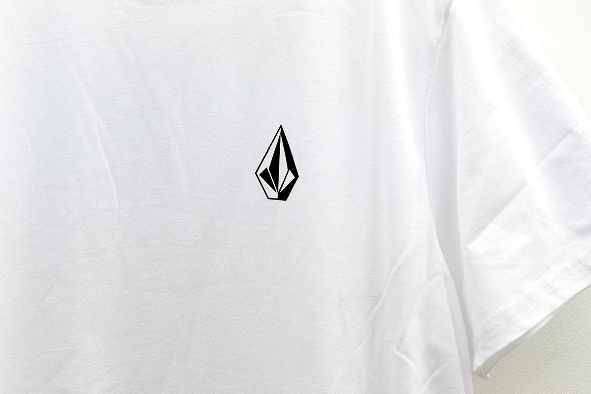 VOLCOM ボルコム メンズ アジアンフィットTシャツ 半袖 AF011908 Apac Ddly Stn S/S Tee [WHT]
