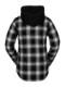 【WINTER SALE 20%OFF】 VOLCOM ボルコム レディース スノーボードウェアライン フーデッドシャツジャケット H1652101 Hooded Flannel Jkt